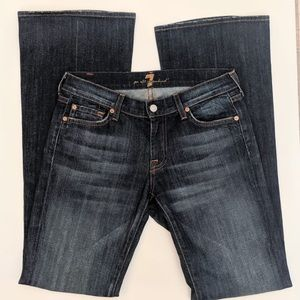 7 For All Mankind Jeans - 7 For All ManKind Flare Denim Jeans